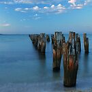 Old Pier by Sue Conway