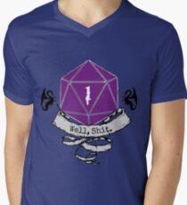 Critical Fail Roll Men's V-Neck T-Shirt