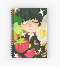 what's with all the food, mob Spiral Notebook