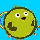Happy Green Planet by Liron Peer