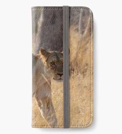 In the tall grass iPhone Wallet