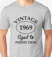 vintage 1969 aged to perfection Unisex T-Shirt