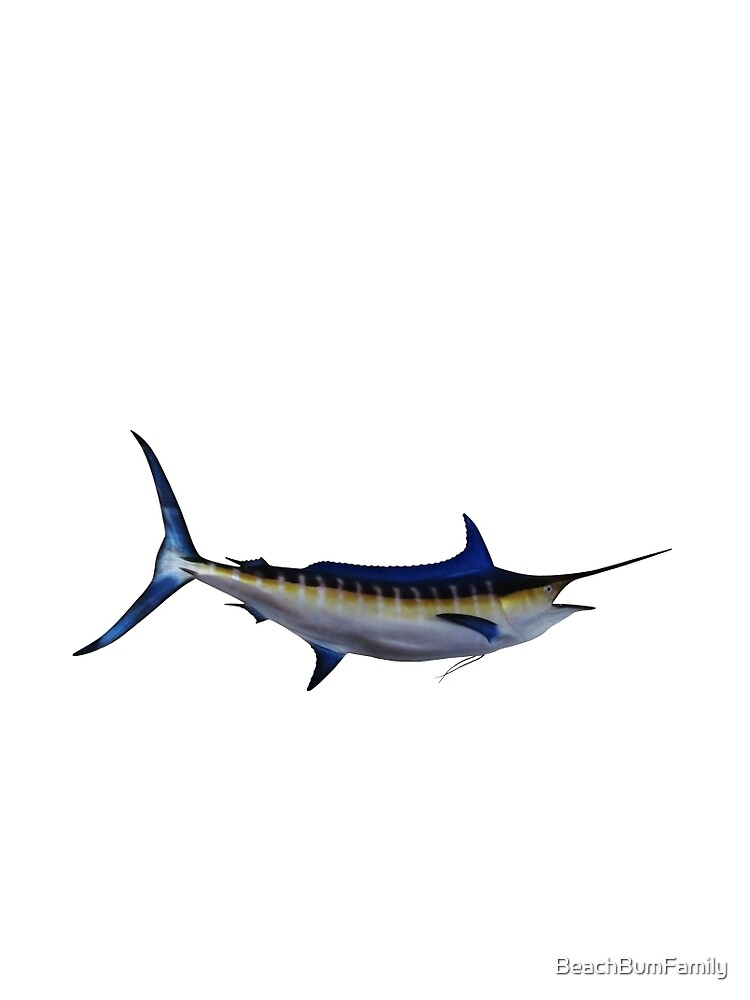 Blue Marlin Fish by BeachBumFamily