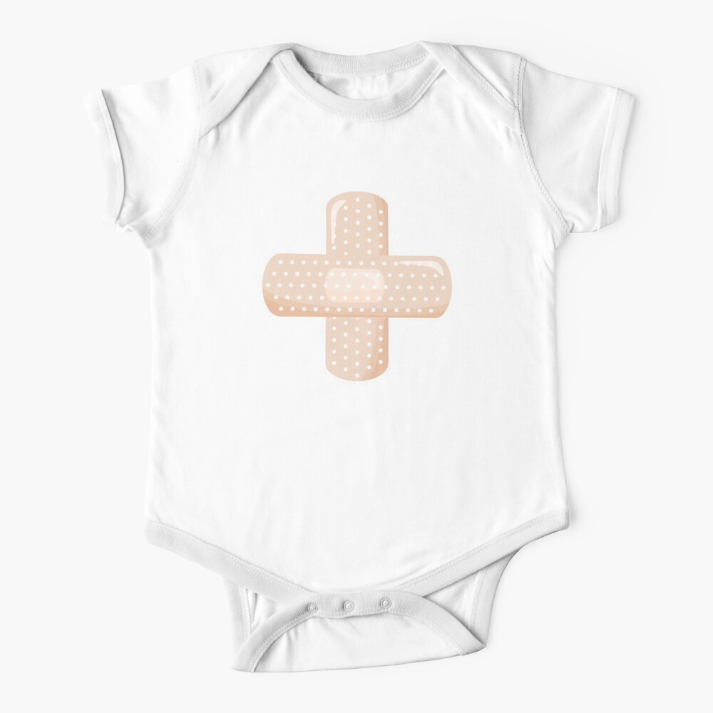 First Aid Plaster Baby One-Piece