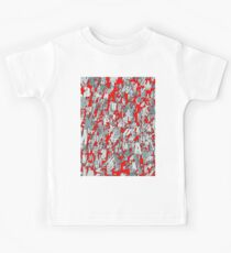 The letter matrix RED Kids Tee