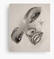 Drawing by TrulySketchy Canvas Print
