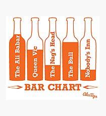 Bar Chart Photographic Print