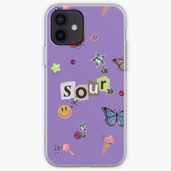 SOUR themed iPhone Soft Case