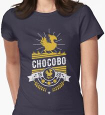 Chocobo Women's Fitted T-Shirt