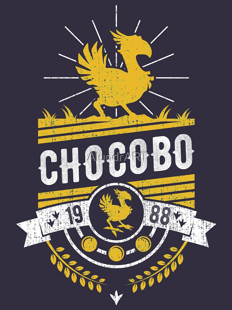 Chocobo de AlundrART