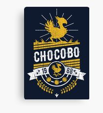 Chocobo Canvas Print