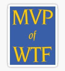 MVP of WTF Sticker