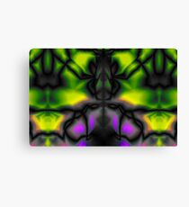 Psychedelic pattern.  Canvas Print