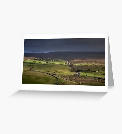 Ribblesdale, Yorkshire Greeting Card