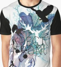 EXPECTO PATRONUM HEDWIG WATERCOLOUR Graphic T-Shirt