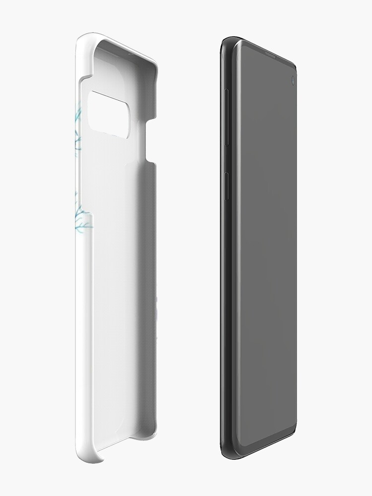 Alternative Ansicht von EXPECTO PATRONUM HEDWIG AQUARELL Hülle & Klebefolie für Samsung Galaxy