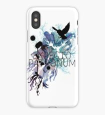 EXPECTO PATRONUM HEDWIG WATERCOLOUR iPhone Case