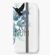 EXPECTO PATRONUM HEDWIG WATERCOLOUR iPhone Wallet/Case/Skin