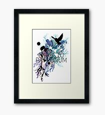 EXPECTO PATRONUM HEDWIG WATERCOLOUR Framed Print