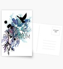 EXPECTO PATRONUM HEDWIG WATERCOLOUR Postcards