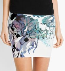 EXPECTO PATRONUM HEDWIG WATERCOLOUR Mini Skirt