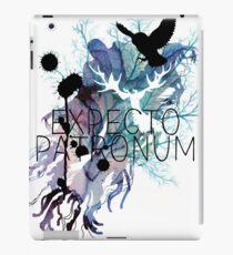 EXPECTO PATRONUM HEDWIG WATERCOLOUR iPad Case/Skin
