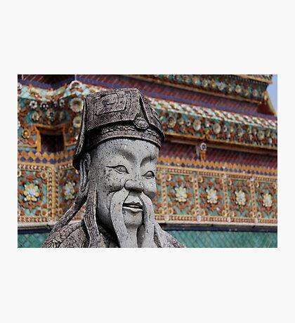 Buddhist Statue Photographic Print