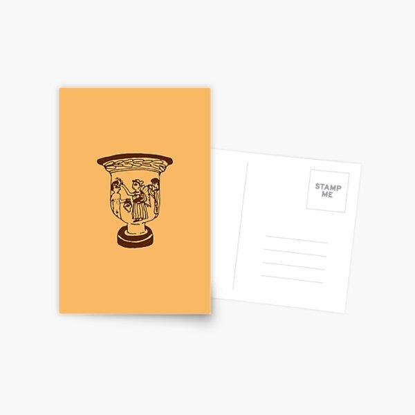 Greek pottery V: goddess of victory Postcard