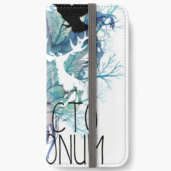 EXPECTO PATRONUM HEDWIG WATERCOLOUR 2 iPhone Wallet