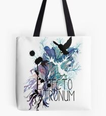 EXPECTO PATRONUM HEDWIG WATERCOLOUR 2 Tote Bag