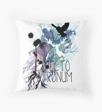 EXPECTO PATRONUM HEDWIG WATERCOLOUR 2 Throw Pillow