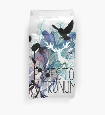 EXPECTO PATRONUM HEDWIG WATERCOLOUR 2 Duvet Cover