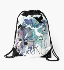 EXPECTO PATRONUM HEDWIG WATERCOLOUR 2 Drawstring Bag