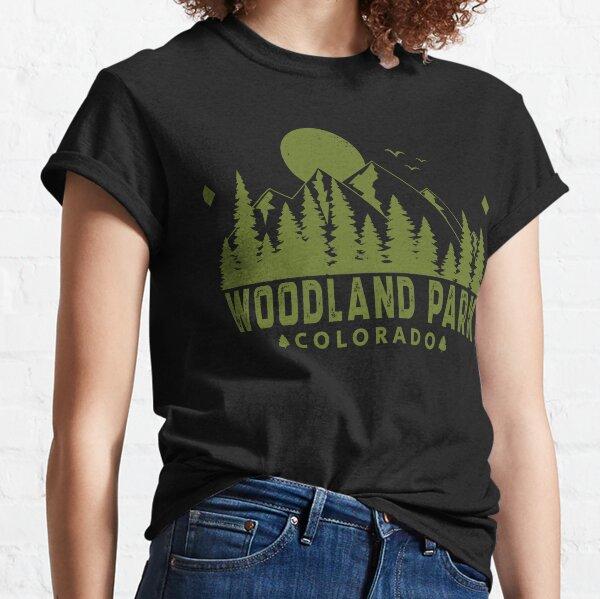 Woodland Park Colorado Mountain View Classic T-Shirt