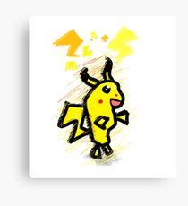 pikachu dude Canvas Print