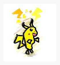pikachu dude Photographic Print