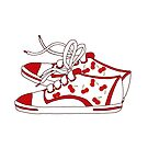 cherry shoes by Michelle *