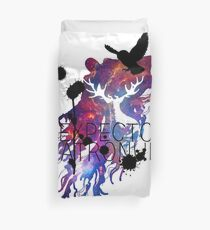 EXPECTO PATRONUM HEDWIG GALAXY 2 Duvet Cover
