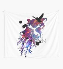 EXPECTO PATRONUM HEDWIG GALAXY 2 Wall Tapestry