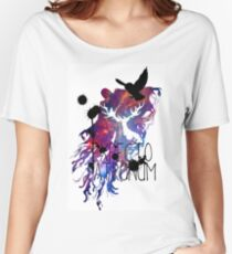 EXPECTO PATRONUM HEDWIG GALAXY Women's Relaxed Fit T-Shirt