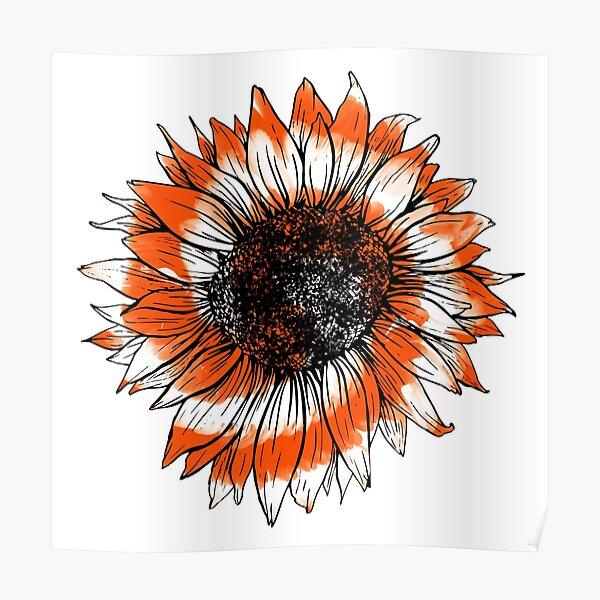 Usa Flag PNG file Sunflower USA Flag and Rainbow Tie Dye Tie Dye sunflower