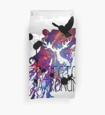 EXPECTO PATRONUM HEDWIG GALAXY Duvet Cover