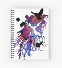 EXPECTO PATRONUM HEDWIG GALAXY Spiral Notebook