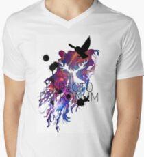 EXPECTO PATRONUM HEDWIG GALAXY 2 Men's V-Neck T-Shirt