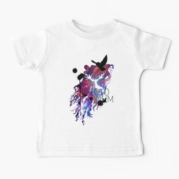 EXPECTO PATRONUM HEDWIG GALAXY 2 Baby T-Shirt