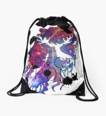 EXPECTO PATRONUM HEDWIG GALAXY 2 Drawstring Bag