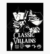 Classic Villains Photographic Print