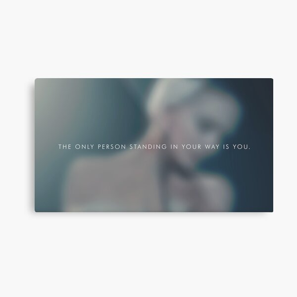 The only person Metal Print