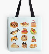 Puppy Pastries Tote Bag