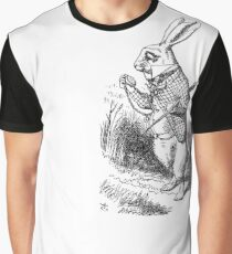The Late Rabbit Graphic T-Shirt